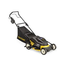 Electric mower self propelled